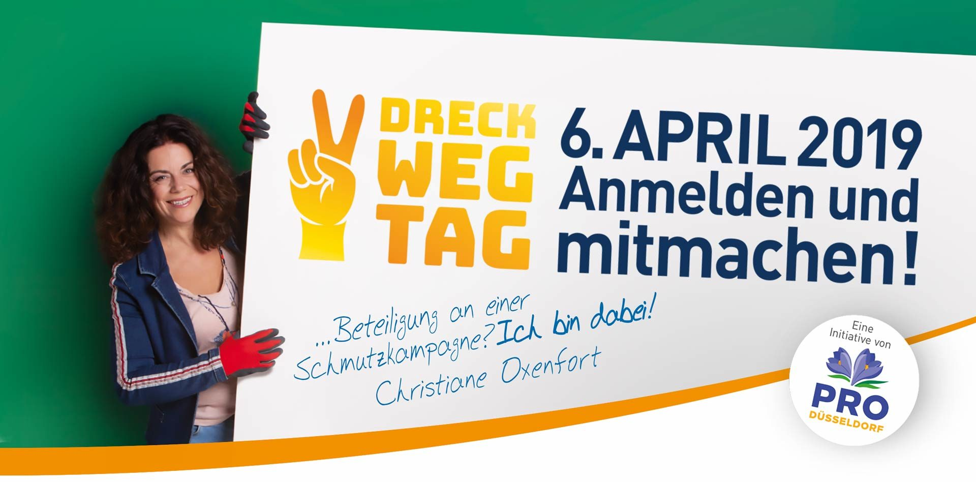 Christiane Oxenfort ist mit dabei!